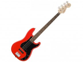 Squier Affinity Series Precision Bass PJ, Race Red