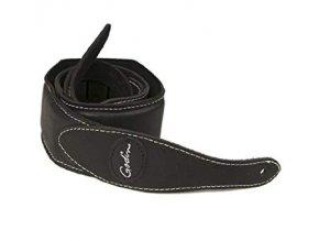 GODIN Black Padded Leather & Suede w Patch Logo