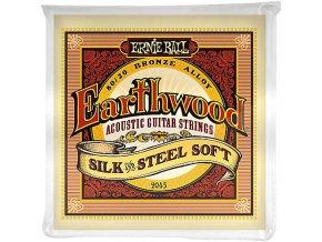 Ernie Ball Earthwood Silk & Steel Soft 80/20 Bronze Acoustic Guitar Strings