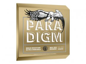 Ernie Ball Paradigm Extra Light 80/20 Bronze Acoustic Guitar Strings