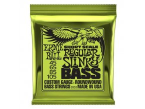 Ernie Ball Regular Slinky Nickel Wound Short Scale Bass Strings