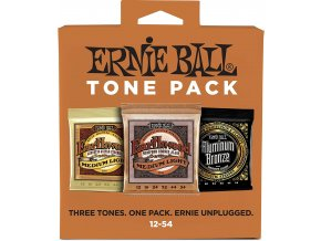 Ernie Ball Medium Light Acoustic Tone Pack