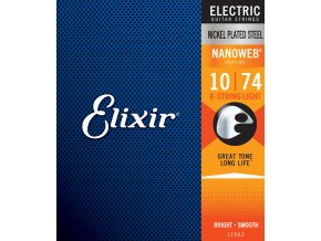 Elixir 8-String Light Nanoweb