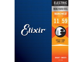 Elixir 7-String Medium Nanoweb