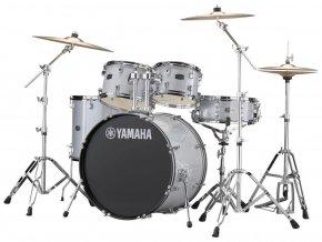 Yamaha Rydeen JRDP0F5SLGCP Silver Glitter Set (Inc. cymbals and stands)