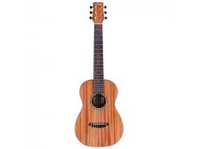Cordoba MINI II guitar Flamed mahagony