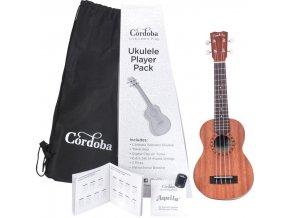 Cordoba Ukulele Player Pack Soprano