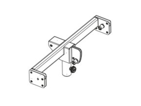 FBT VHA-S 406 CLUSTER BRACKET WITH SPEAKER POLE FOR 1 x VHA 406A