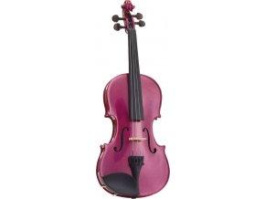 STENTOR Violin 4/4, Harlequin, Set, Pink