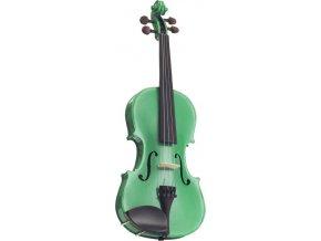 STENTOR Violin 4/4, Harlequin, Set, Green