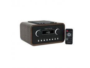 small radio tangent alio fm dock walnut 21063