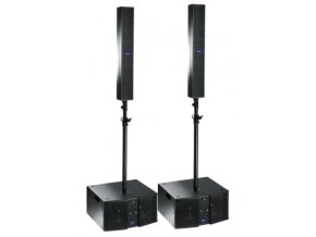 2 x FBT CLA 604 A Black + 2 x CLA 208 SA Black + dištanční tyče + obaly