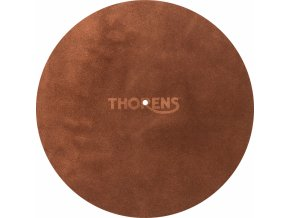 Thorens Leather Mat Hnedá koža 1