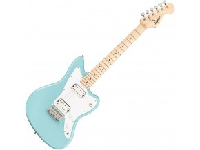 Squier Mini Jazzmaster HH, Maple Fingerboard, Daphne Blue 1