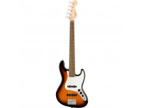 Squier Affinity Series Jazz Bass V, Laurel Fingerboard, Brown Sunburst 1a