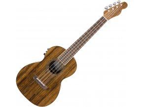 Fender Rincon Tenor Ukulele V2, Ovangkol Fingerboard, Natural 1