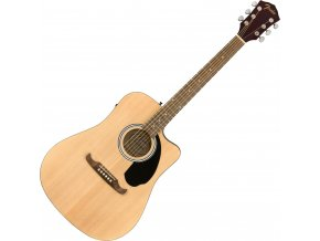 Fender FA 125CE Dreadnought, Walnut Fingerboard, Natural 1