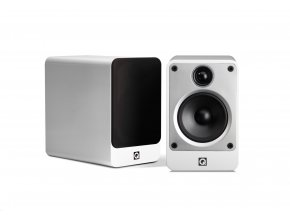 Q Acoustics Concept 20 biely lesklý lak