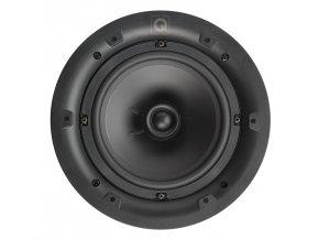 Q Acoustics QI 65C biela, kruhová mriežka