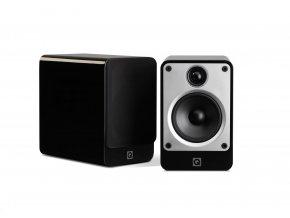 Q Acoustics Concept 20 čierny lesklý lak