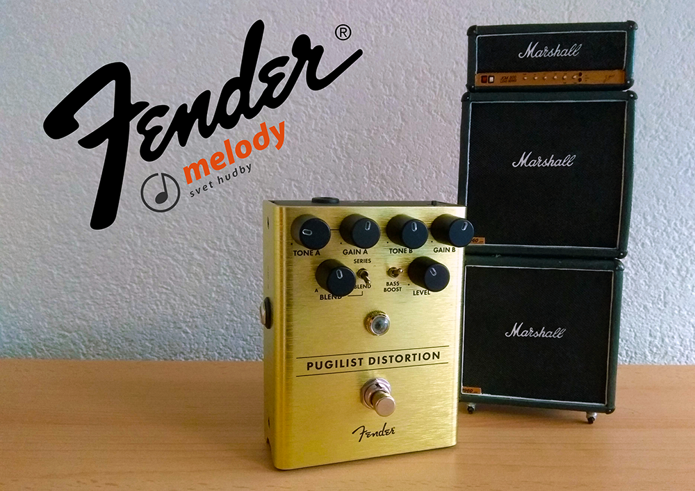 Recenzia - Fender Pugilist Distortion