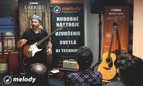 1. 12. 2015 - Gitarový workshop s Dave Goodmanom