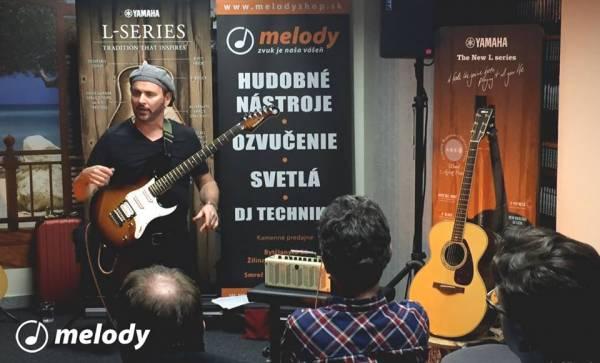 1. 12. 2015 - Gitarový workshop s Dave Goodmanom