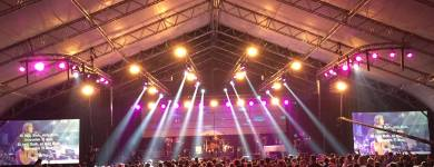 Line array FBT MUSE na CampFest-e