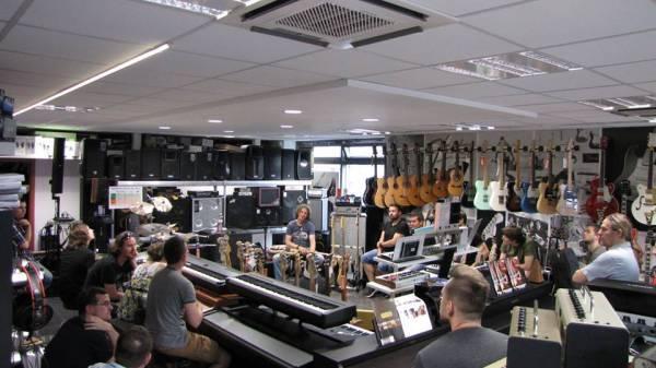 16. 6. 2015 Bass Workshop - Viktor Hidveghy