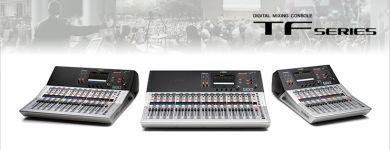 Yamaha TF séria - nové digitálne mixpulty skladom v Melody Žilina