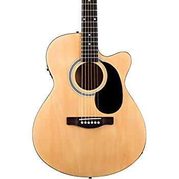 Elektroakustické gitary koncertného typu a typu 00/000