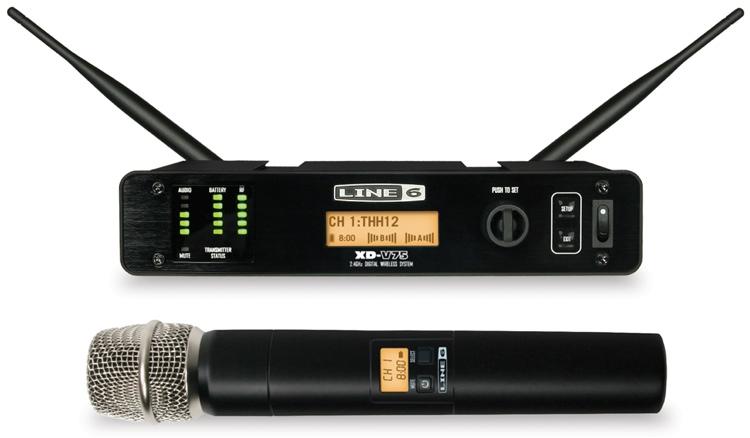 Bezdrôtové sety s ručným mikrofónom