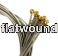 Flatwound struny pre elektrickú gitaru