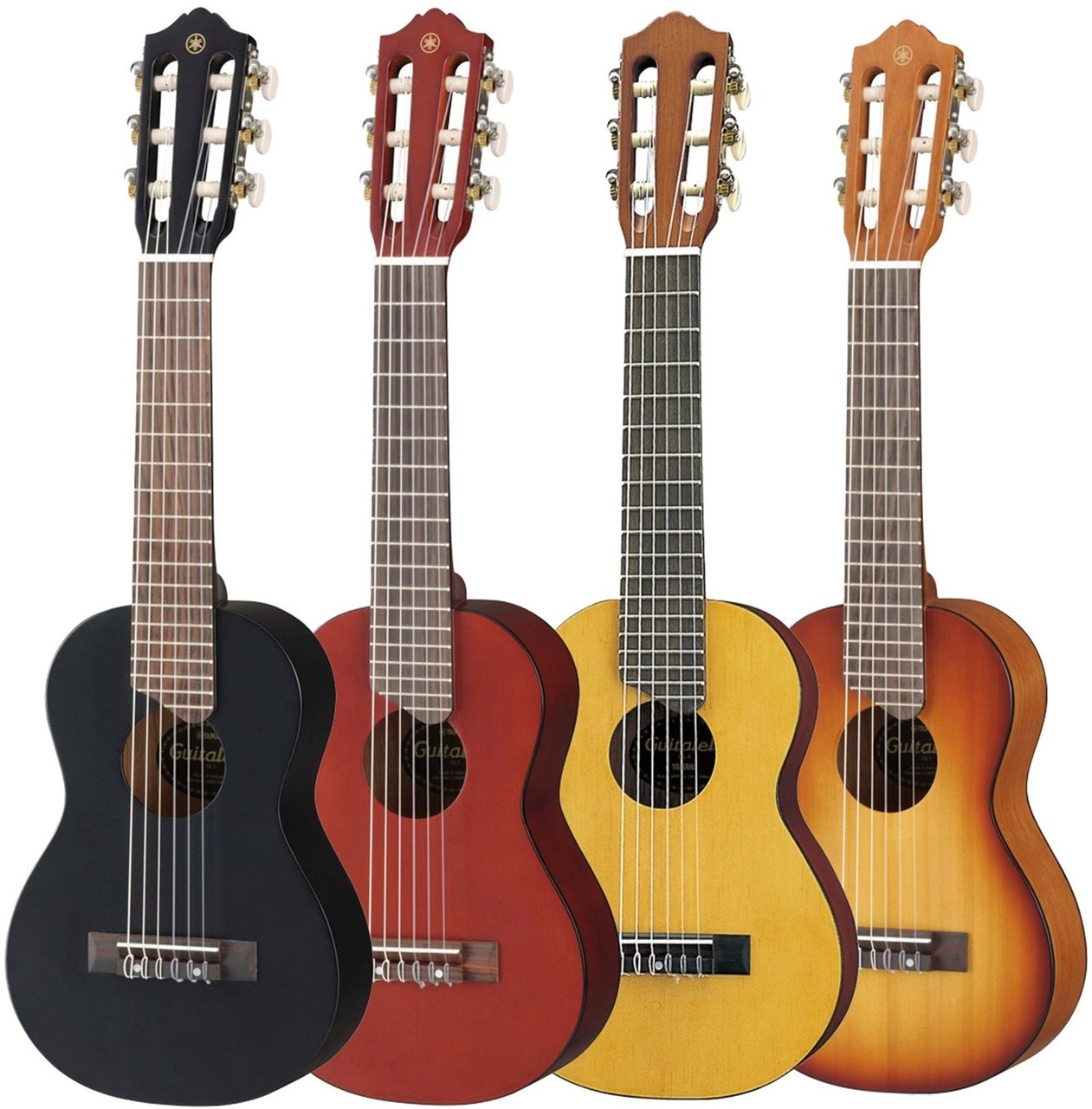 Ukulele, guitalele, banjo, mandolína