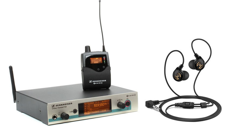 Bezdrôtové sety pre in-ear monitoring