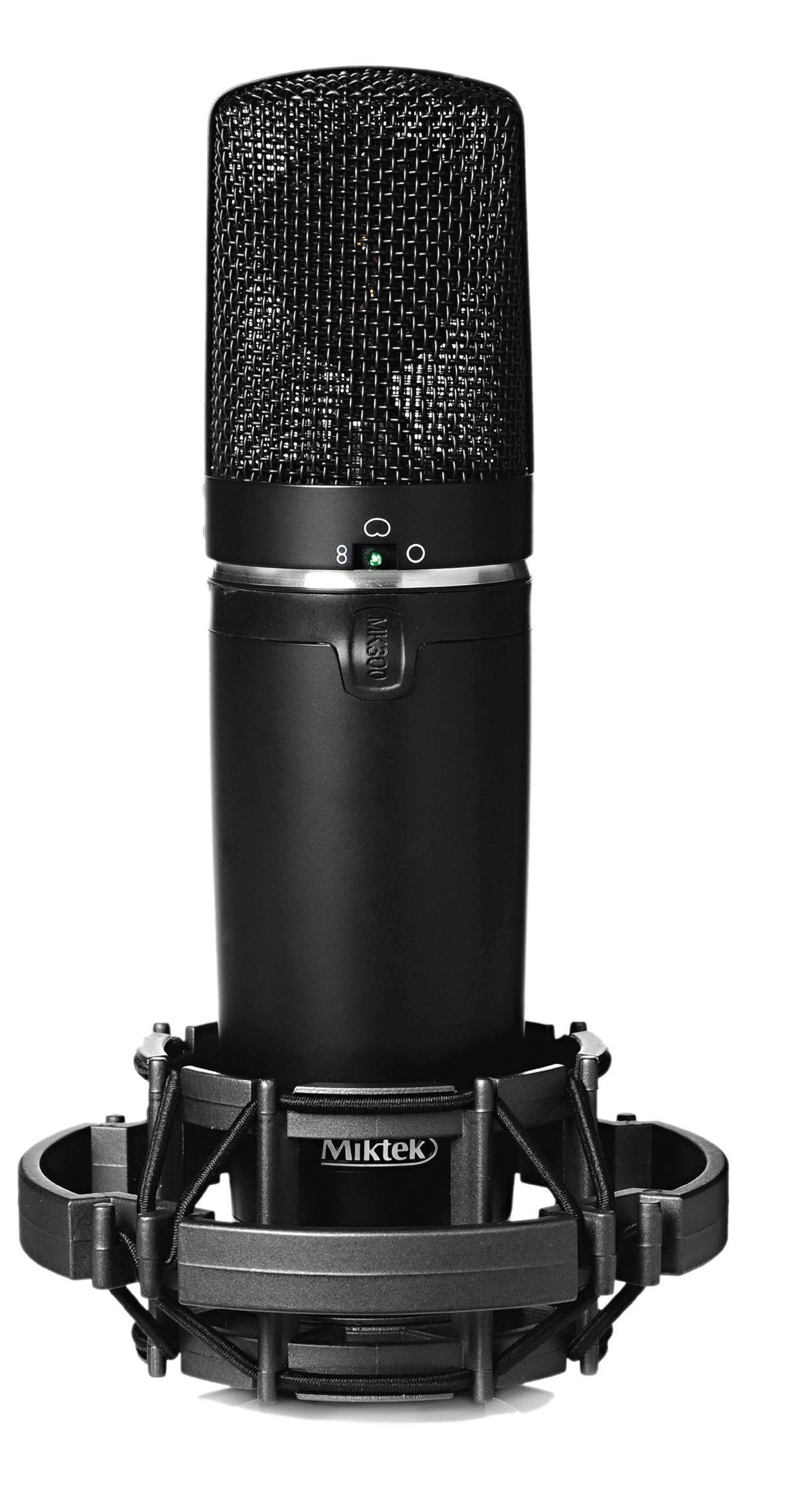Veľkomembránové mikrofóny