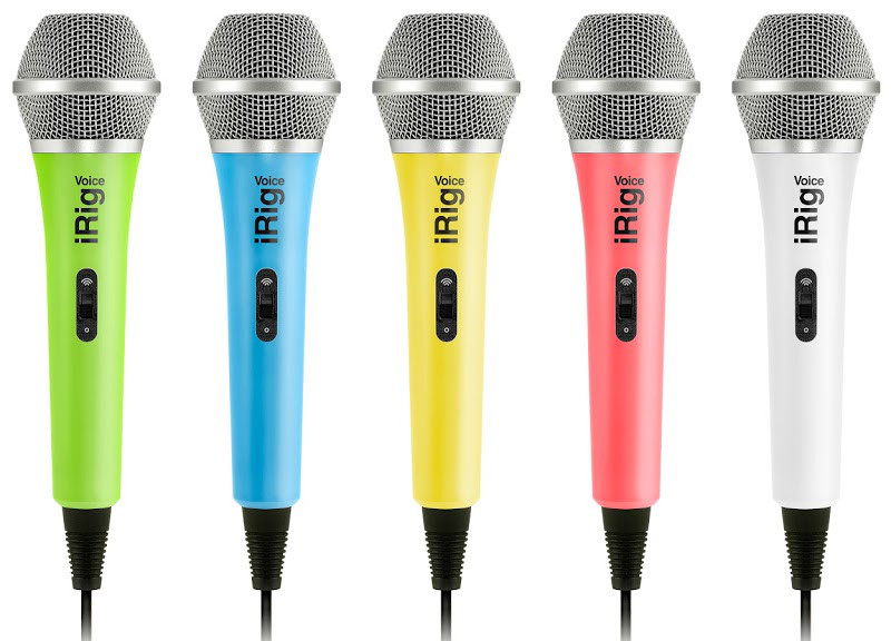 Mikrofóny pre iOS a Android