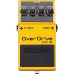 Overdrive, Distortion, Fuzz a Boost