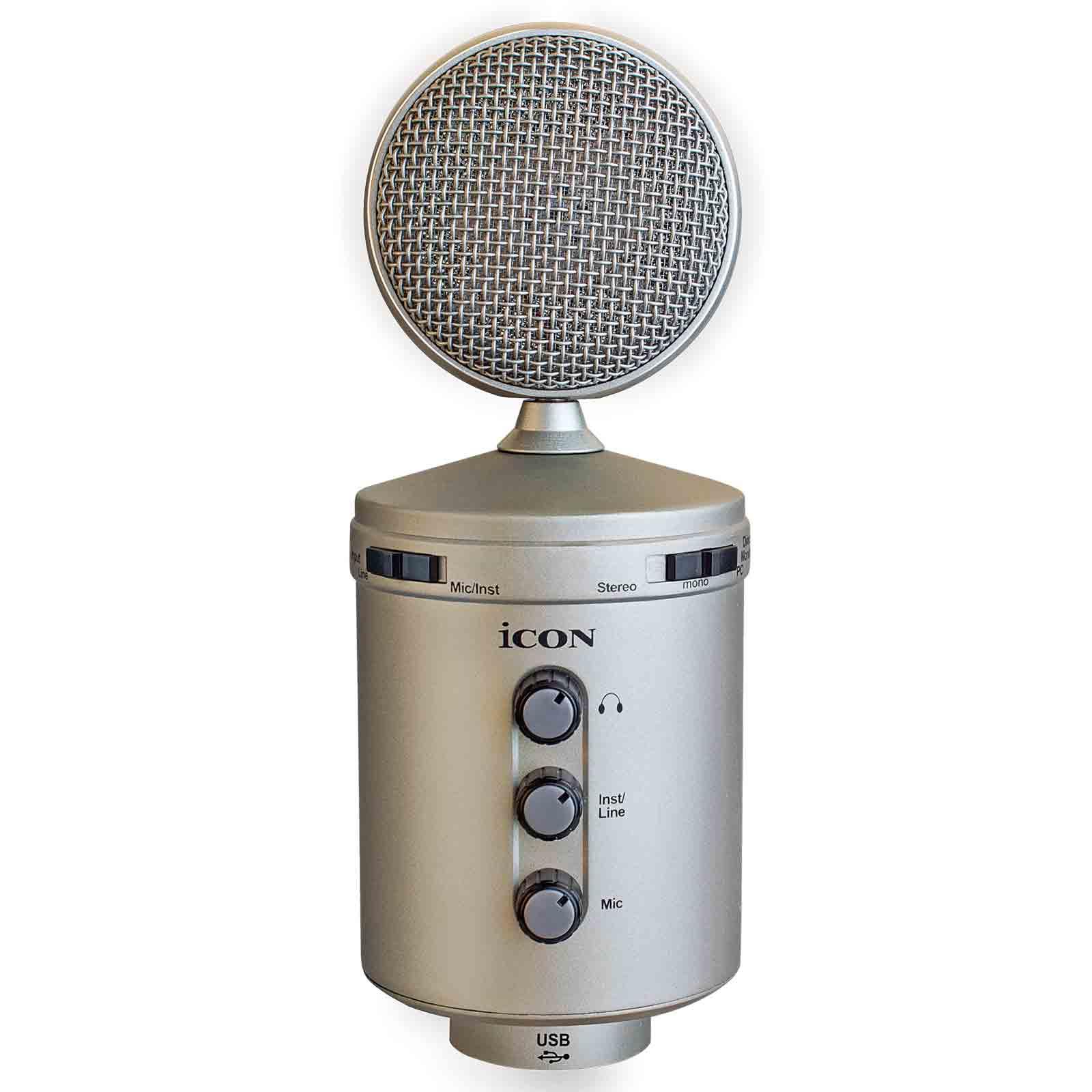 USB mikrofóny