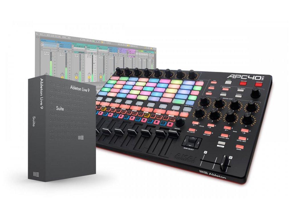 Akai APC40 MK2 + Live 9 Suite