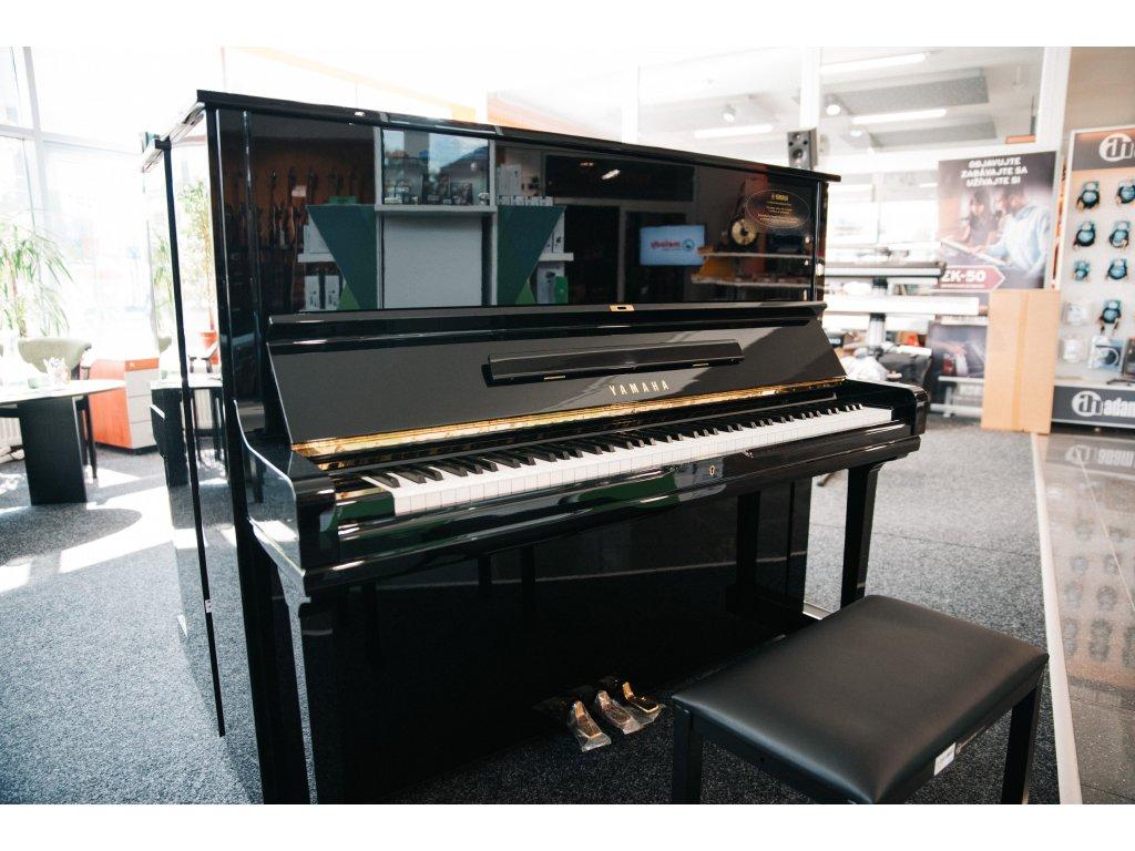 Yamaha U1A Piano used, Black Polished