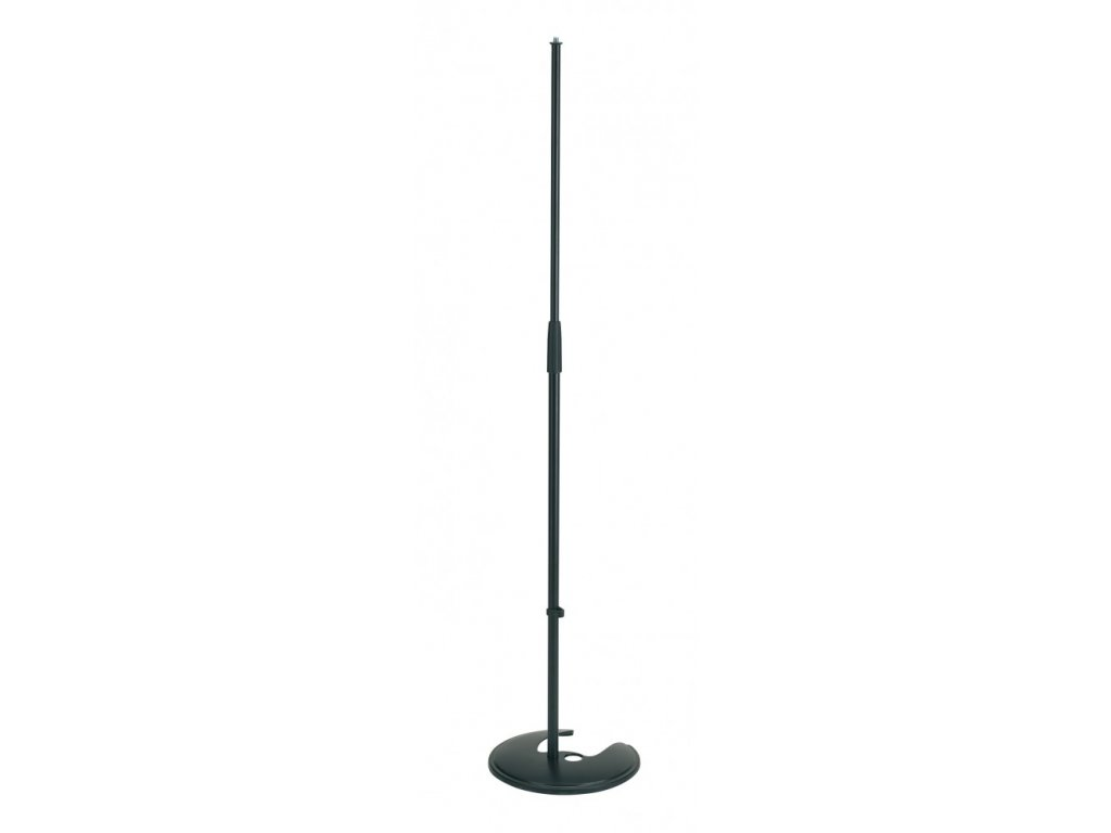 K&M 26045 Stackable microphone stand black