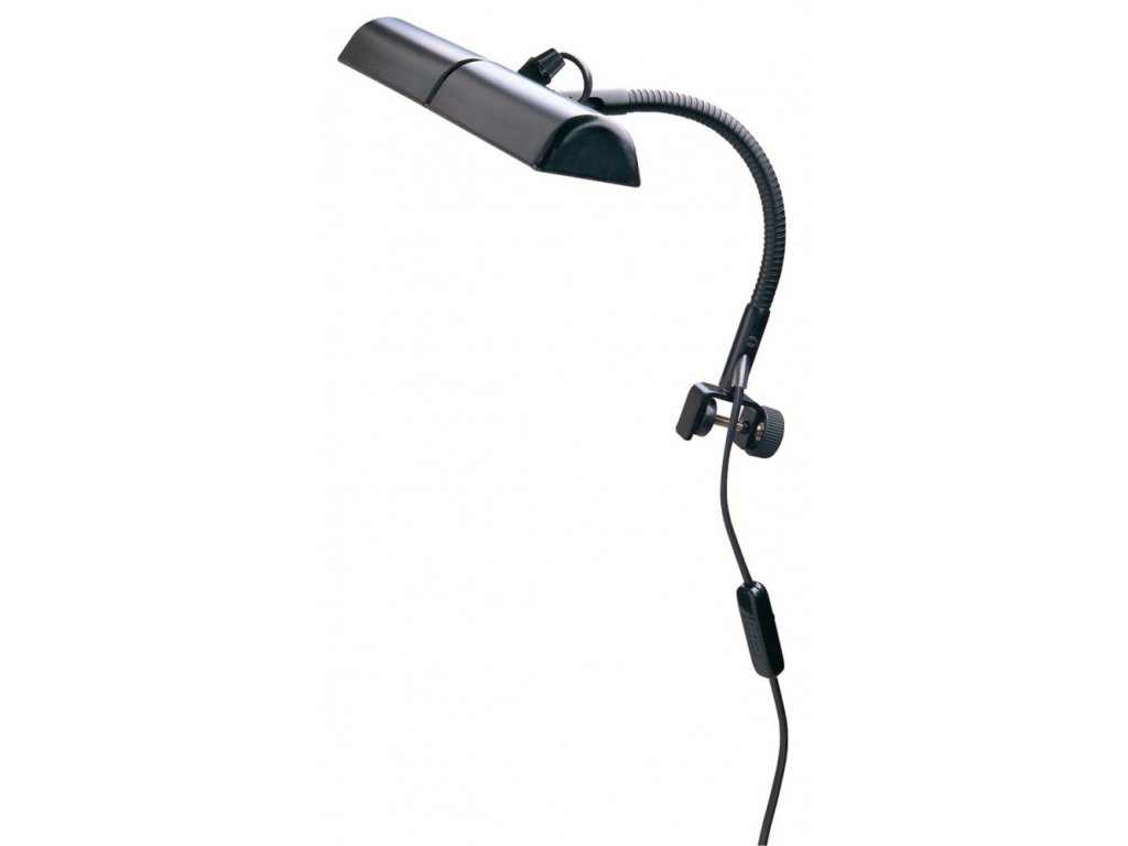 K&M 12275 Double music stand light black