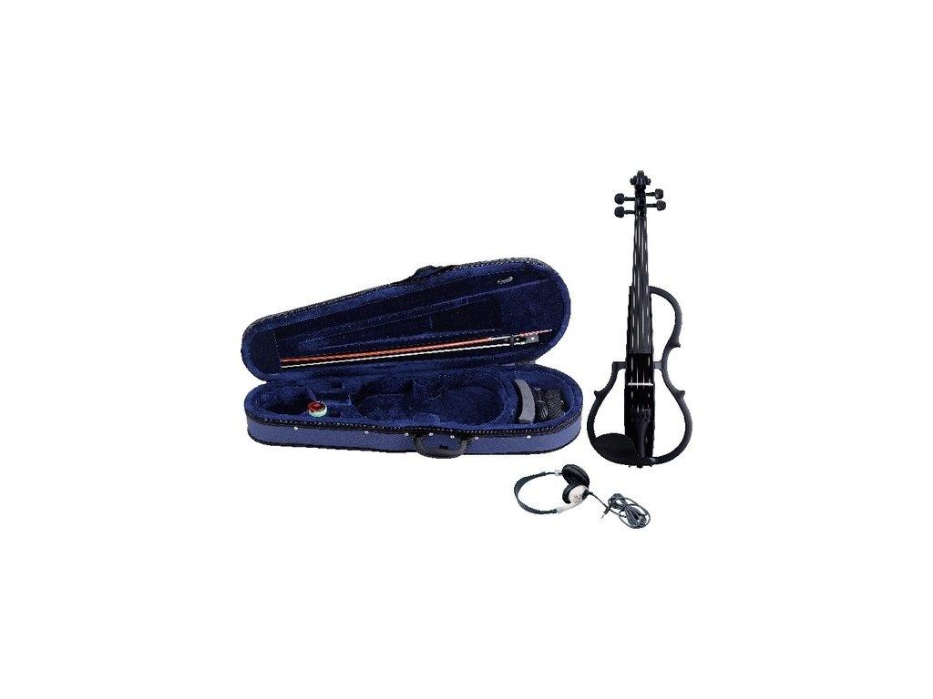 GEWA E-violin GEWA Strings Black finish