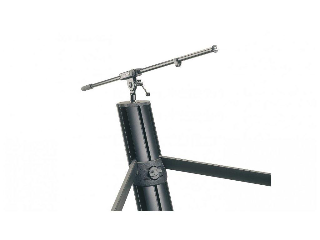 k m 18860 keyboard stand spider pro black anodized. Black Bedroom Furniture Sets. Home Design Ideas