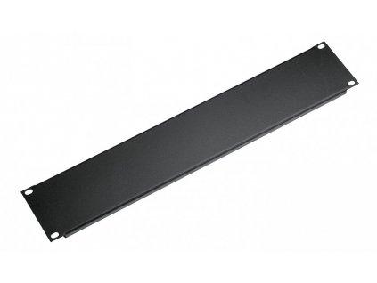 K&M 494/2 Panel black, 2 spaces, 0,2 kg