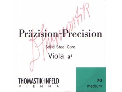 Thomastik Strings For Viola Precision steel solid core Medium