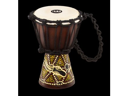 MEINL AFRICAN STYLE DJEMBE XX-SMALL, PAINTED,DARK SERPENT