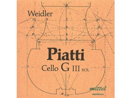 Piatti Strings For Cello Medium