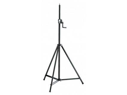 K&M 246/1 Lighting/Speaker stand black